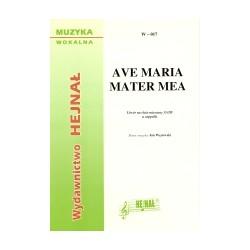 W-017  AVE MARIA MATER MEA
