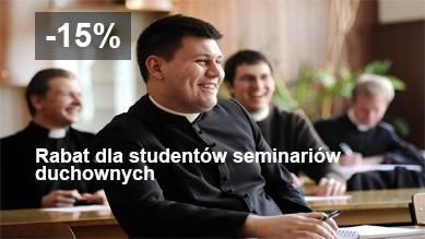 Rabat dla studentów seminariów duchownych